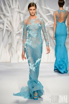Abed Mahfouz - Couture - Fall-winter 2013-2014 - http://en.flip-zone.com/fashion/couture-1/independant-designers/abed-mahfouz-4060 - ©PixelFormula
