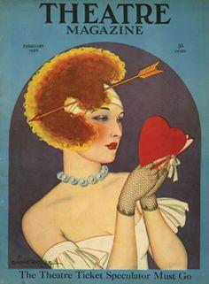 Theatre Magazine Cover, February 1924