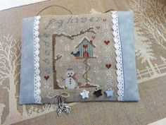 Free cross stitch graph - Winter Birdhouse, thanks so for share xox