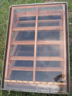 naturewitch: Solar Food Dehydrator