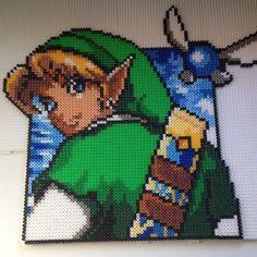 Link Legend Of Zelda hama beads by liinnaabroden97