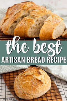 Artisan Bread Recipe – fast easy artisan bread recipe Artisan Bread Recipe only requires 3 simple ingredients and you can have homemade bread at home with little effort. Try this artisan sourdough bread recipe. Artisan Sourdough Bread Recipe, Artisan Bread Recipes, Easy Bread Recipes, Cooking Recipes, Delicious Bread Recipe, Basic Artisan Bread Recipe, Recipe For Bread, Easy Healthy Bread Recipe, Recipes