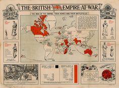 1916 British empire at war