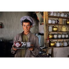 Hospitality and tea are very important in the daily life of Afghans