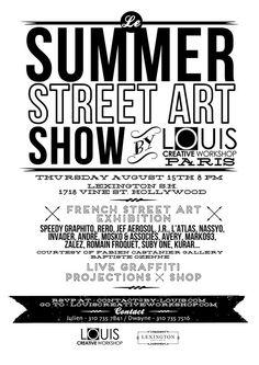 Summer street art show , Los Angeles