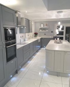 Everything About New Kitchen Renovation Ideas Do It Yourself Large Open Plan Kitchens, Open Plan Kitchen Diner, Open Plan Kitchen Living Room, Kitchen Room Design, Modern Kitchen Design, Home Decor Kitchen, Interior Design Kitchen, New Kitchen, Kitchen Ideas