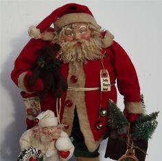 Handmade Santa Claus~Elf & Teddy Bear~By Kim Sweet~Kim's Klaus~Ebay Seller-kim-s-klaus-s  Jolly Happy Soul