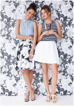 How do you skirt? Floral or eyelet?