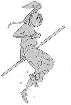 """animationtidbits: """"Avatar: The Last Airbender - The Promise - Aang Model Sheets """""""