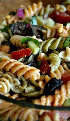 Loaded Caesar Pasta Salad