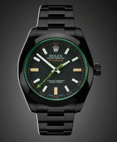 To know more about ROLEX Project X BlackOut Rolex MILGAUSS visit Sumally, a social network that gathers together all the wanted things in the world! Featuring over other ROLEX items too! Cool Watches, Watches For Men, Wrist Watches, Black Rolex, Breitling Watches, Rolex Oyster Perpetual, Swagg, Luxury Watches, Mens Fashion