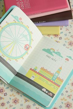 Aw, I want a nice notebook/diary but I have nothing to write about. (」゚ペ)」