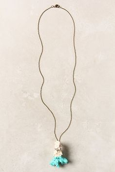 Dipped Sessile Necklace #anthropologie