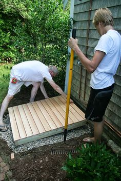 Backyard Projects, Outdoor Projects, Outdoor Ideas, Backyard Ideas, Outside Showers, Outdoor Showers, Outdoor Shower Kits, Open Showers, Diy Shower