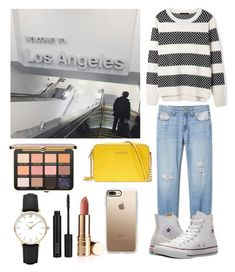 """""""Trip in Los Angeles for business✈️"""" by emma-horan-73 on Polyvore featuring mode, GET LOST, Converse, Michael Kors, Casetify, ZOEVA et CLUSE"""