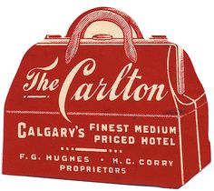 Saved by Colton Schools (coltonschools). Discover more of the best Hand, Lettering, Drawn, and Typography inspiration on Designspiration Vintage Luggage Tags, Luggage Labels, Calgary, Vintage Graphic Design, Vintage Type, Vintage Ephemera, Vintage Ads, Vintage Logos, Logos Retro