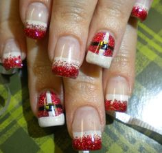 Christmas DIY Nail Art Designs https://www.facebook.com/pages/All-I-want-for-Christmas/199719693547081