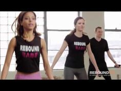 REBOUNDFIT BEGINNER/INTERMEDIATE WORKOUT ON THE BELLICON HD - YouTube