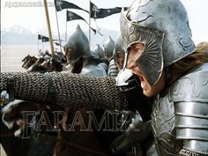 LOTR 30 Day Challenge Day 24:  Saddest casualty and/or collateral damage.  Faramir sacrificing himself for his father's insane idea of retaking Osgiliath.
