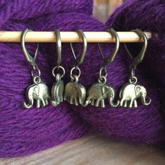 A set of 5 elephant crochet or knitting markers. The markers were handmade on the South coast of England, by Rachael, and experienced knitter and crocheter, who always road tests her products before putting them up for sale.  Each Marker is available either as a small (for up to 4 mm needles) or large knitting marker (for up to 7mm needles, or as a hinged removable marker for crochet or knitting.   I would be happy to make up any quantity of markers, either for crochet or knitting, so feel…