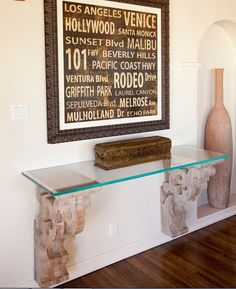 Entryway Table #Entryway #decor #table