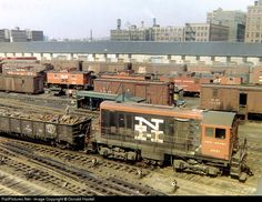 This was an example of the quintessential New Haven Railroad Yard of the early It featured long freight houses, many old cabooses, tons of scrap metal, early generation ALCO's Ho Trains, Model Trains, Hartford City, Railroad Pictures, Bonde, Railroad Photography, Rail Car, Train Pictures, Train Engines