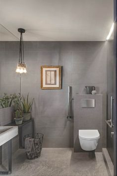 These large oblong Italian glazed wall tiles are easy to admire in three matt colours and have a soft irregular surface texture, which reflects the urban concrete style that is very of-the-moment. You can imagine how there gentle,natural feel bring space and tranquility to leisure-time in your new bathroom. Also in the Chalk range we have fibre textured tiles - these large oblong Italian glazed wall tiles are available in three matt colours and have a surface texture. #bathroomwall #bathroomtile Bad Inspiration, Bathroom Inspiration, Bathroom Wall, Bathroom Interior, Glazed Walls, Tiles Texture, Grey Tiles, Floor Design, Wet Rooms
