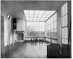 I love the light in Corbusier interiors-