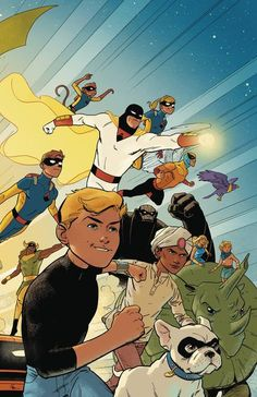 DEAL OF THE DAY Future Quest TPB Vol. 01 - $13.59 Retail Price: $16.99 You Save: $3.40 When worlds collide, it's up to Hanna-Barbera's best-known action heroes to save the day! Johnny Quest, Space Ghost, the Herculoids and more are reimagined in this new collection! Collects FUTURE QUEST #1-6!  TO BUY CLICK ON LINK BELOW http://tomatovisiontv.wix.com/tomatovision2#!comics/cfvg