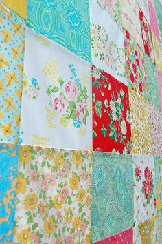 strawberry picnic patchwork... | Flickr - Photo Sharing!