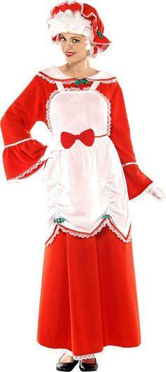 Christmas Santa/Mrs Clause Women's/Girls Apron #Christmas