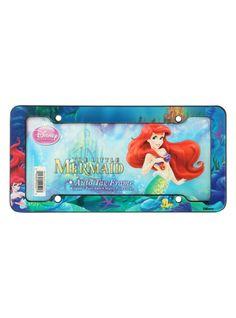 Disney The Little Mermaid License Plate Frame | Hot Topic