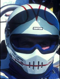 Simpson Bandit Alan Jones, World champion Racing Helmets, Motorcycle Helmets, Bicycle Helmet, Simpson Helmets, Helmet Armor, Williams F1, Vintage Helmet, Races Style, Bike Kit