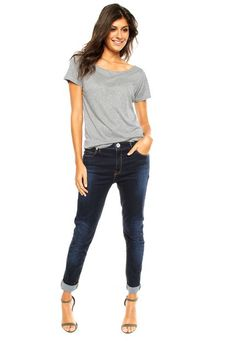 Calça Jeans Animale Skinny Agung Azul - Marca Animale