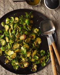 Brussels Sprouts with Lemon and Thyme