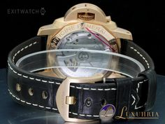 Luminor Marina 1950 3 Days 18kt Rotgold Oro Rosso 42mm - Exitwatch24 DE