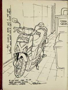 jatmika sketch & drawing: bengkel