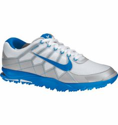 13630465d81d7 Nike Men s Air Range II Waterproof Golf Shoe - White Photo Blue Neutral Grey