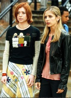 Willow Rosenberg Fashion - Buffy and Willow from Buffy the Vampire Slayer