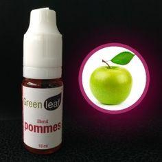 e-liquide Green Leaf Goût Pomme