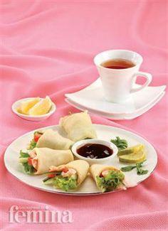 Lumpia Udang Manis :: Hidangan Indonesia :: Resep :: Kuliner :: Femina.co.id ::