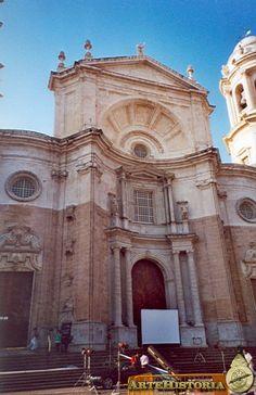 Catedral de Cádiz. Fachada principal - Obra - ARTEHISTORIA V2