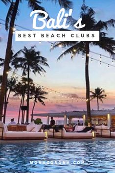 The Top 5 Must Visit Bali Infinity Pools And Best Beach Clubs In Indonesia