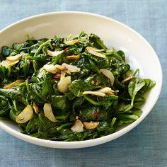 Gebakken spinazie met krokante knoflook Recept   Weight Watchers Nederland