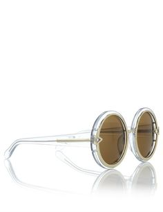 5d54e0819ce KAREN WALKER EYEWEAR Clear Orbit Round Sunglasses