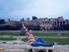 Fabulous #traveller of the day: @thehandsomeblogger   Tag #fabuloustravel to be featured    Just give me the #RomanEmpire. Its all mine! Strutting like a drag race girl at #CircusMaximus where the buff roman gladiators races their chariots it does give you a perspective of the majestic city that you feel like its yours. #theromehello