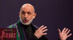 حامد کرزی: نیرو های ویژه امریکایی ها کارمندان دولت را کشتند  http://ansarpress.com/farsi/8866 #افغانستان
