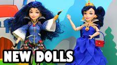 New Disney Descendants Evie Dolls Review. Evil Queen's Daughter. DisneyT...