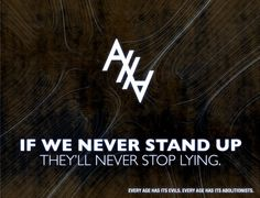 If we never stand up, they'll never stop lying. Abolish Human Abortion.