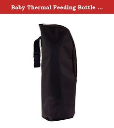 Baby Thermal Feeding Bottle Warmers Bag Mummy Insulation Tote Bag Hang Stroller. Can hang baby stroller and use it with mummy bag,easier to carry when outside. Selects the high quality fabric is better than ordinary fabric?not easy to dirty,more durable, more fashion ,more practical. Can keep the milk warm for 3-4 hours. Oxford + aluminum foil + EPE foam material. Size:8*8*24cm (can put 350ml baby feeding bottle). Color:show as picture(First).